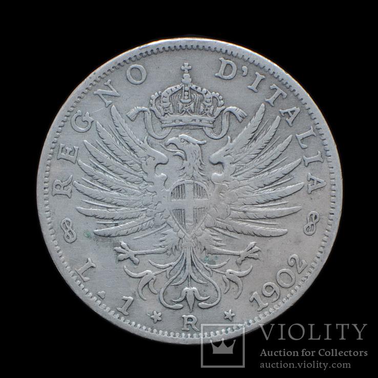 1 Лира 1902, Италия