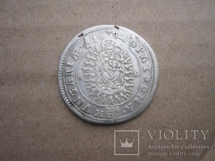 15 крейцерів 1682 венгрия