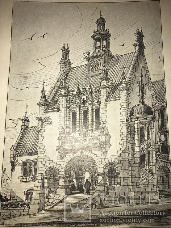 1892 Замки Поместья Академия Архитектора