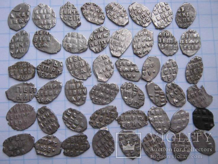 Петровские чешуйки.48 шт