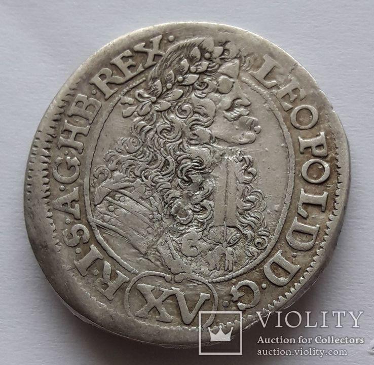15 крейцеров 1690 г.