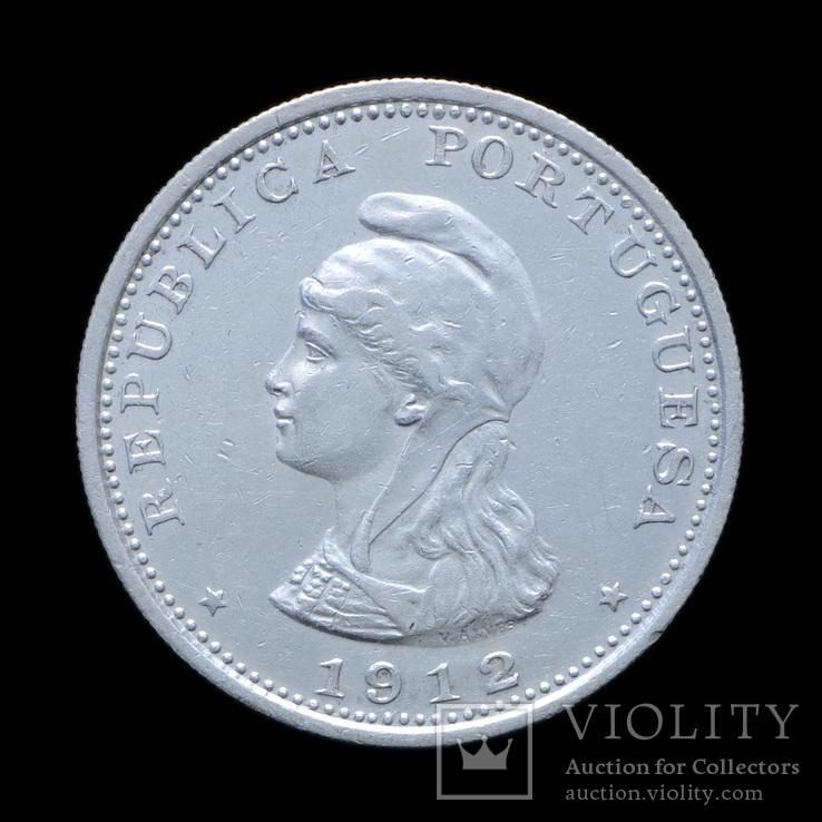 1 Рупия 1912, Португальская Индия аUNC