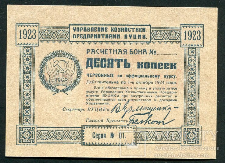 10 копеек 1924 г,ВУЦИК,RR