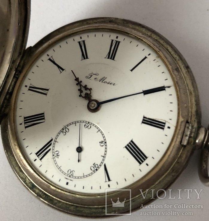 Часы карманные T.Moser Серебро