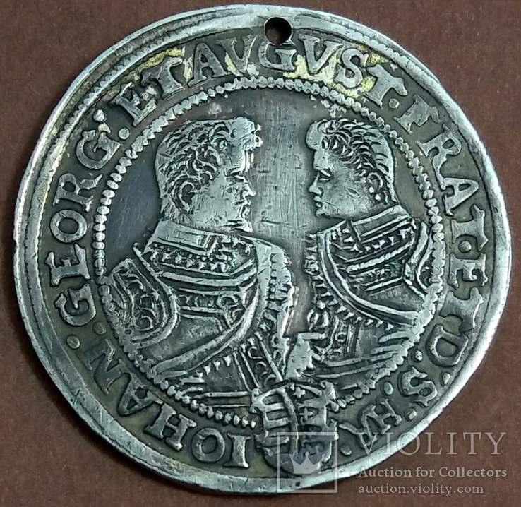 Талер Саксония 1608