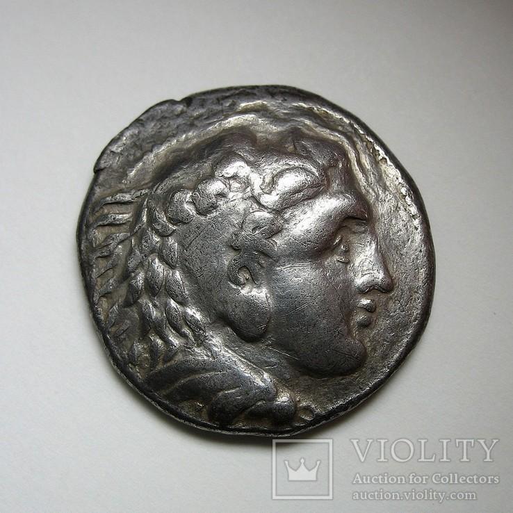 Дунайские кельты, подражание тетрадрахме Александра