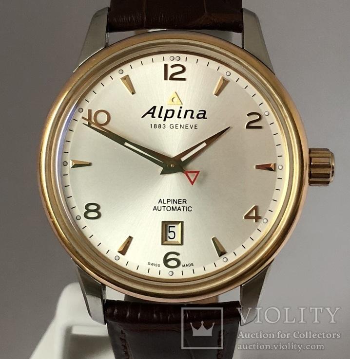 Часы наручные Alpina Alpiner