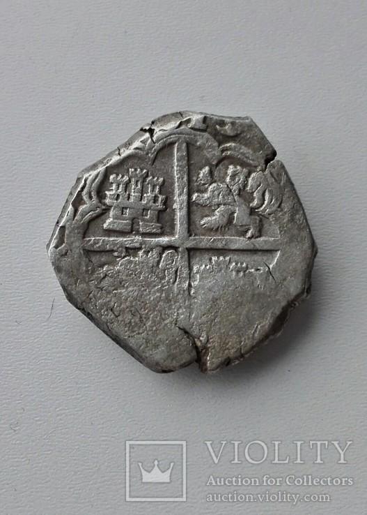 4 реалa короляФилиппа II Испанского