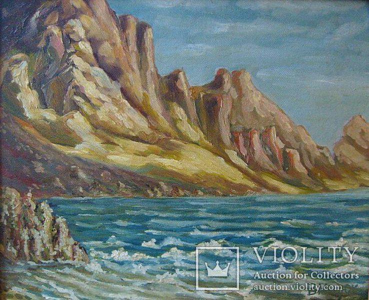 Морской пейзаж 25х35 см, фото №2
