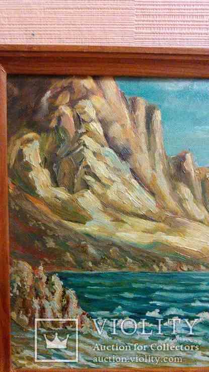 Морской пейзаж 25х35 см, фото №3
