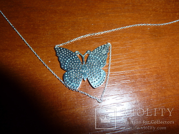 Ожерелье с бирюзой и шпинелью, фото №3