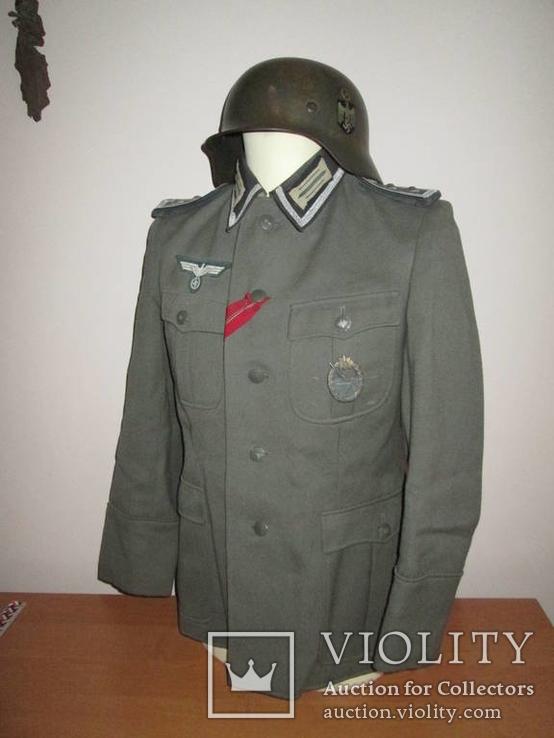 Китель (Feldbluse) Обер-фельдфебель, Wehrmacht.