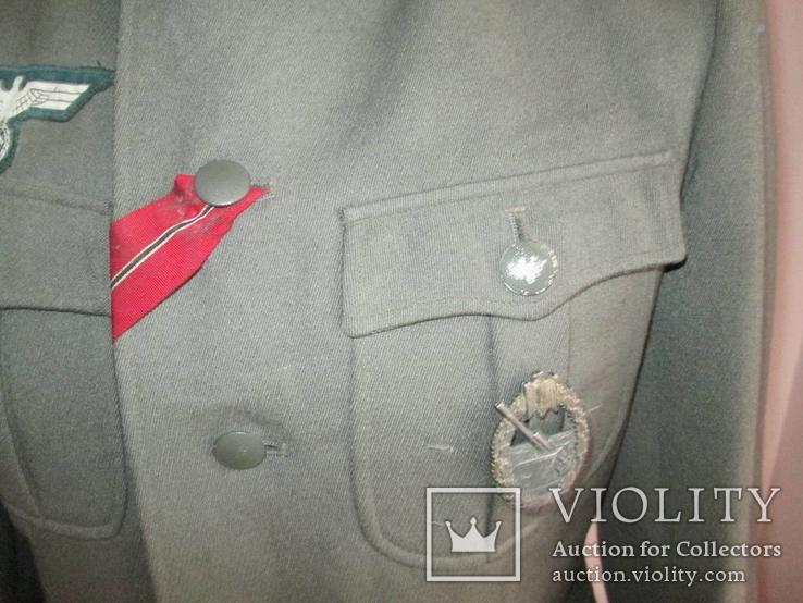 Китель (Feldbluse) Обер-фельдфебель, Wehrmacht., фото №4
