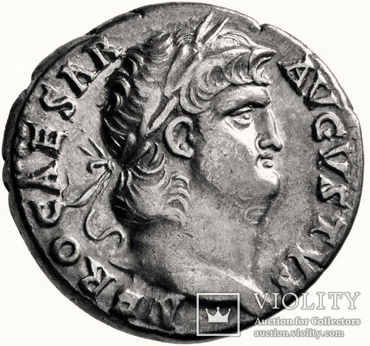 Денарий Нерон 54-68 г. н.э.