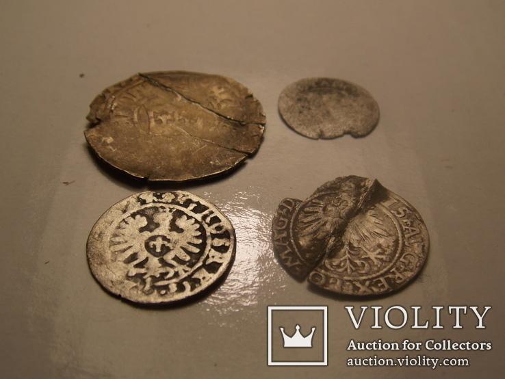 4 средневековых монеты, фото №2