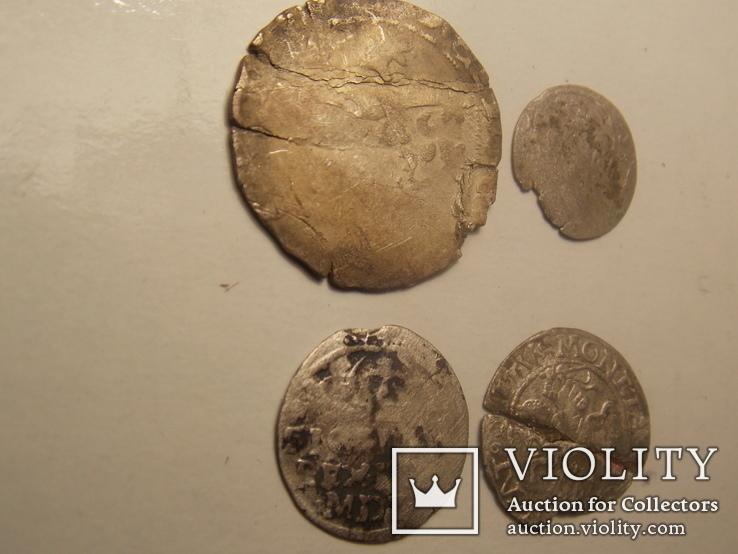4 средневековых монеты, фото №5