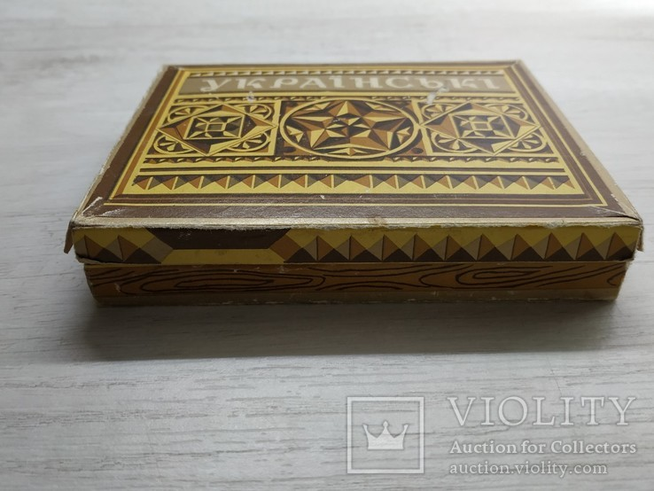 Коробка Цигарки Украiнськi., фото №5