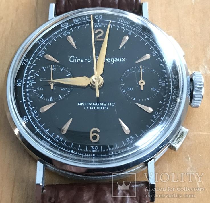 Часы швейцарские GIRARD PERREGAUX, D=34 mm.