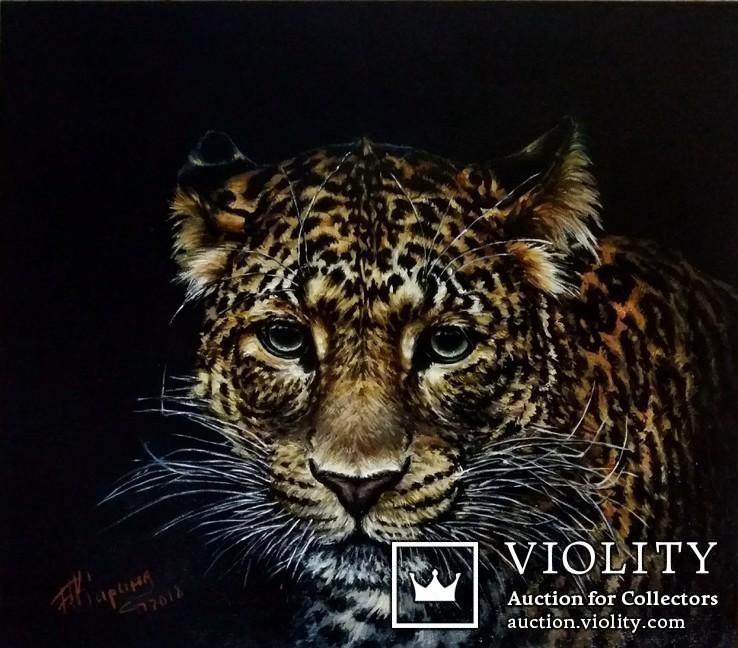 Дикие кошки-Леопард.автор Березина К.