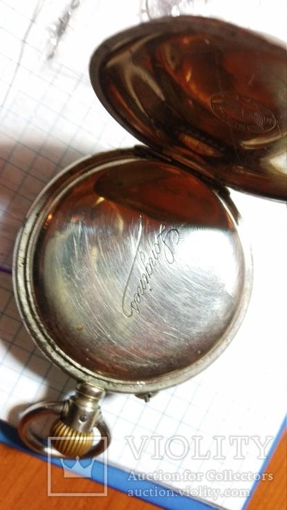 Часы карманные Longines на восстановление, фото №4