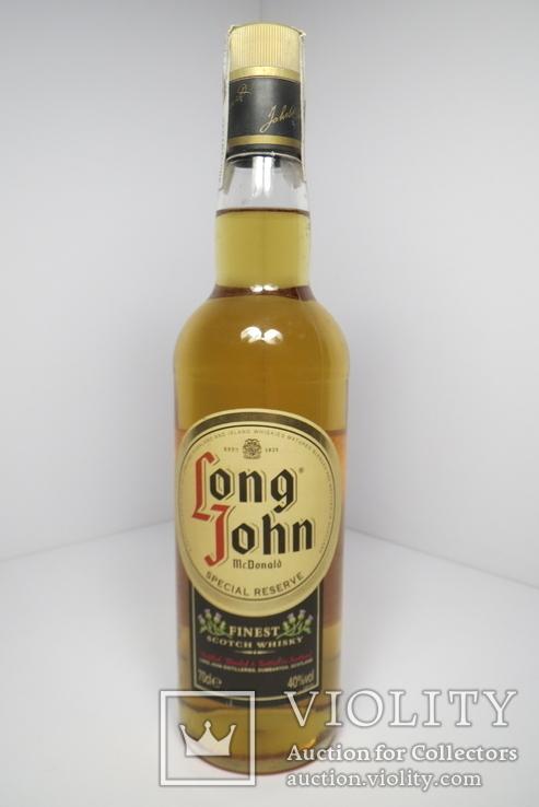 """Виски,,long John"""".Шотландия. 1978-1981"""