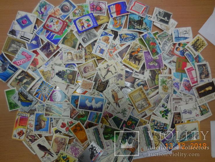 Набор марок Польша более 160 шт
