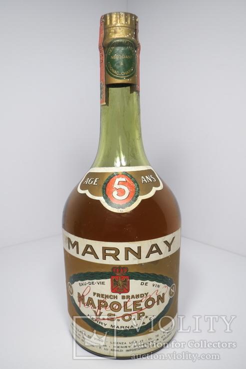 Бренди Napoleon 5 Marnay v.s.o.p.FRancia gr 40 0.750lt 1980г