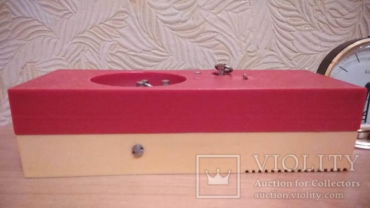 Часы будильник Наири музыкальный + бонус часы Янтарь, фото №4