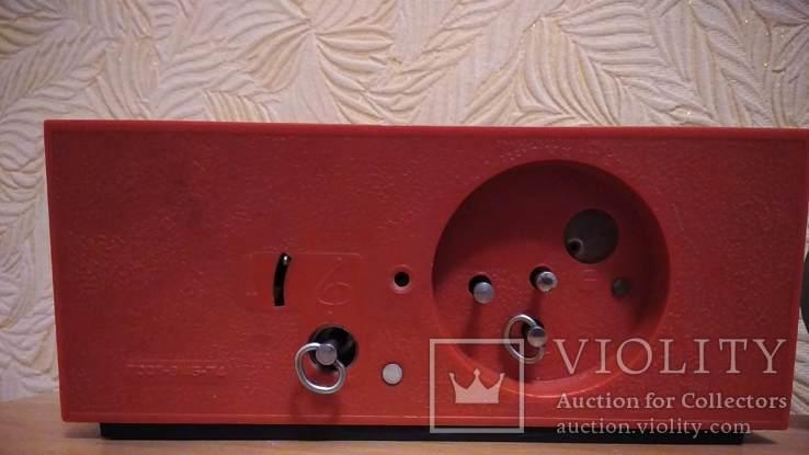 Часы будильник Наири музыкальный + бонус часы Янтарь, фото №5