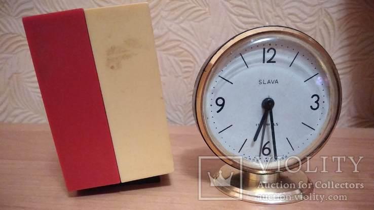 Часы будильник Наири музыкальный + бонус часы Янтарь, фото №7