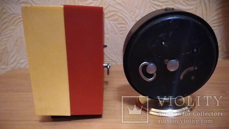 Часы будильник Наири музыкальный + бонус часы Янтарь, фото №8