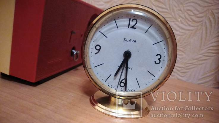 Часы будильник Наири музыкальный + бонус часы Янтарь, фото №9
