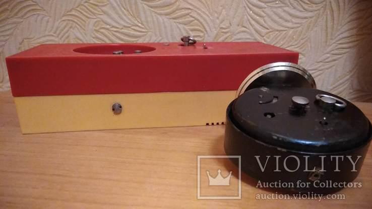 Часы будильник Наири музыкальный + бонус часы Янтарь, фото №10