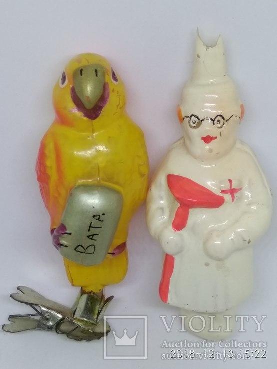 Ёлочные игрушки СССР из серии