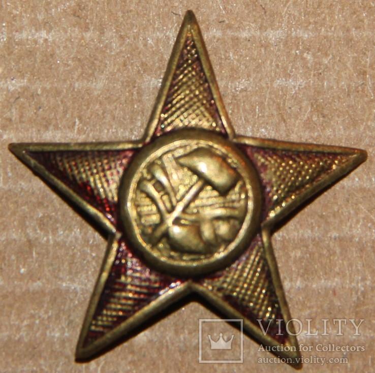 Звезда-кокарда 20-е годы
