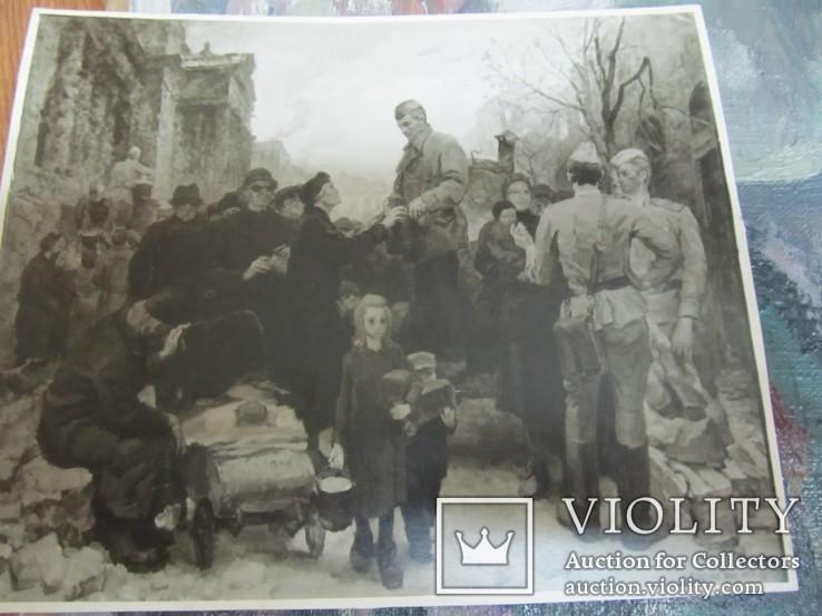 """Ятченко Ю. Н., НХУ. Два этюда и два фото к """" Солдаты мира"""", фото №6"""