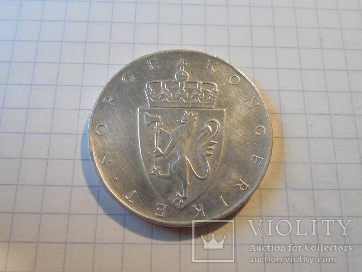 10 крон 1964г Норвегия, фото №4