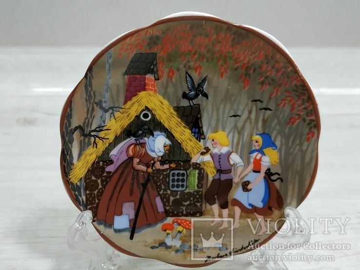 "Коллекционная мини-тарелочка ""Сказка"", фото №2"