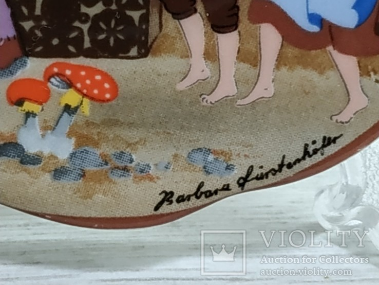 "Коллекционная мини-тарелочка ""Сказка"", фото №4"