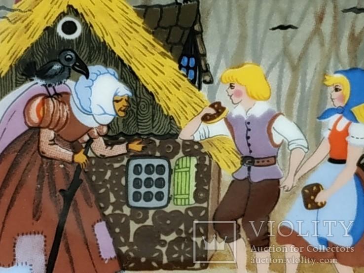 "Коллекционная мини-тарелочка ""Сказка"", фото №5"