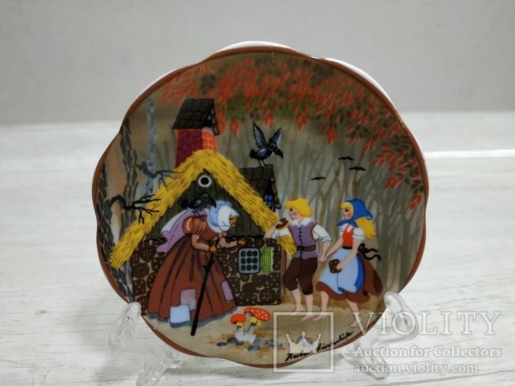 "Коллекционная мини-тарелочка ""Сказка"", фото №6"