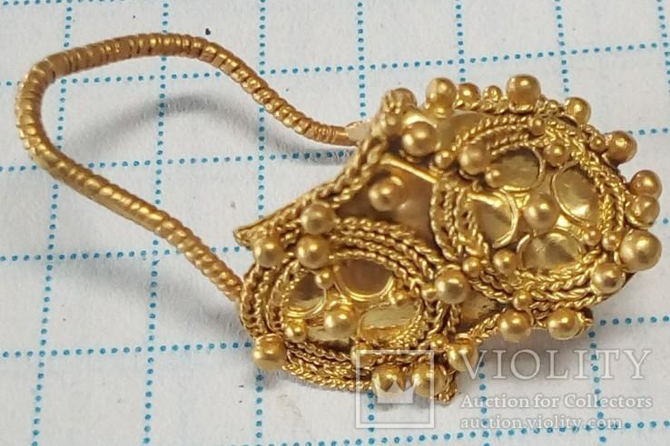 Золотое украшение.(древний Рим 2-3 ст. н.р.)