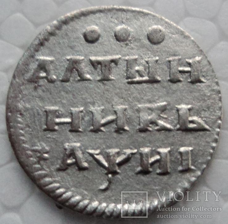 Алтынник 1718 года.