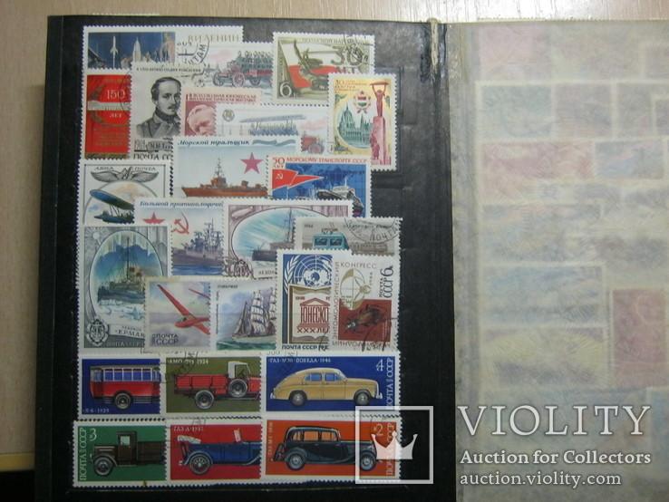 Альбом марок болие 400 шт