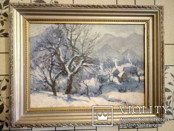 Зима у Яблуневі