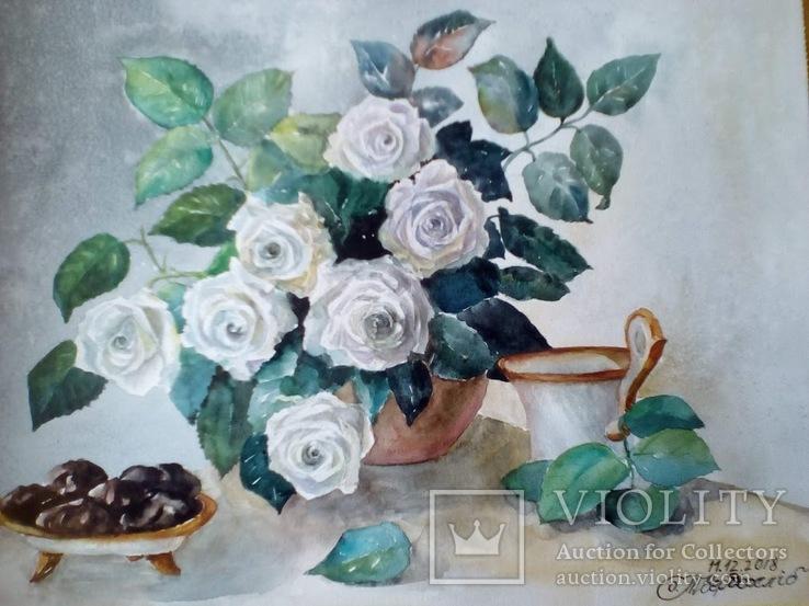 Завтрак с розами