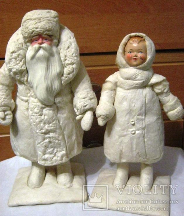Снегурочка и Дед Мороз ( раднаргосп Киев Победа )