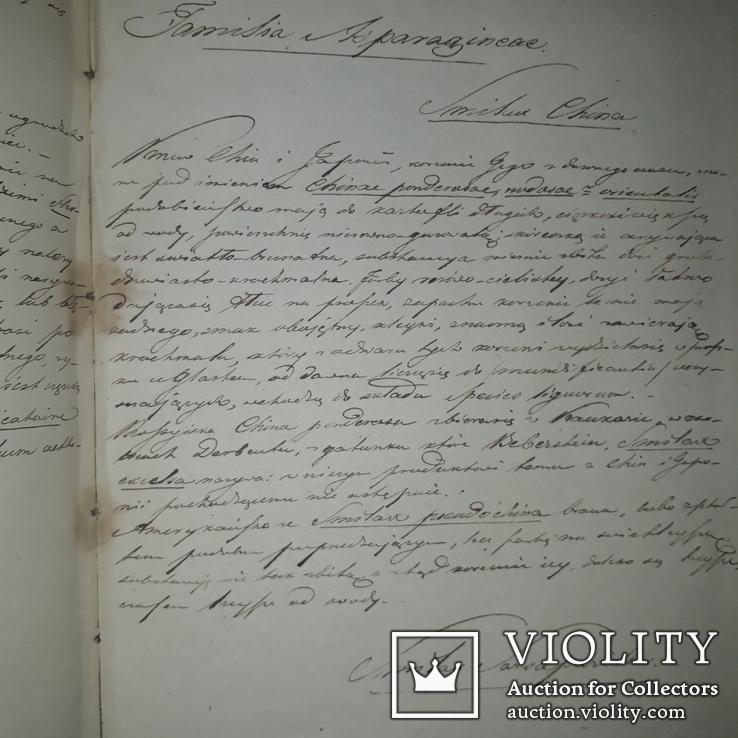 1839 Рукопись ботаника-флориста Станислава Гоского, фото №11