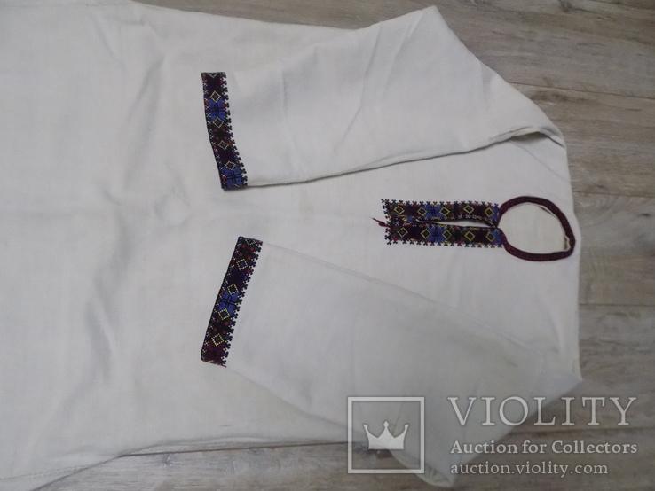 Жіноча полотняна сорочка с.Черганівка, фото №3