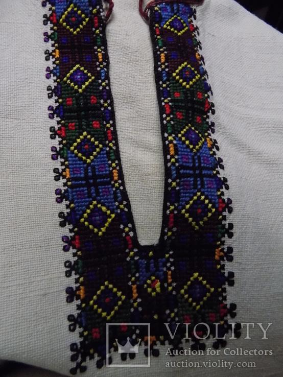 Жіноча полотняна сорочка с.Черганівка, фото №8